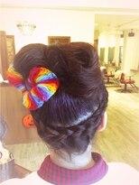 ヘア デザイン スタイリー(Hair Design stylee)ハロウィンスタイル2