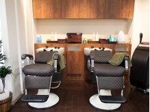 ダン美容室(dAN)の雰囲気(落ち着いた雰囲気でゆったり寛げるシャンプー台♪)