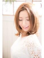 【miel hair bijoux】大人女子の小顔ミディアム♪