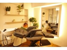 サロン ド テール(salon de TERRE)の雰囲気(ヘッドスパブースもあり、頭皮へのケアも大切にしております!)