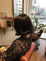 ヘア デザイン スタイリー(Hair Design stylee)切りっぱなし外ハネボブ2