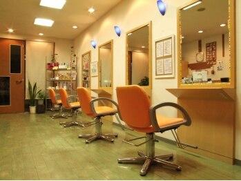 美容室オール(ALL)の写真/お子様同伴のお客様もいっぱいご入店♪その秘密は、スタッフが作り出すリラックスできる空間と安心感!!