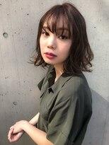 【Lano by HAIR】関亜梨佐 黒髪暗髪アッシュ小顔ミディアム