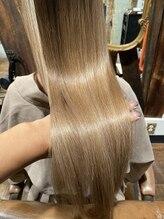 アティック ヘアーデザインアンドリラクゼーション(attic hair design&relaxation)髪質改善ヘアエステ 1回目