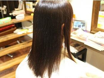 あんど ヘアアトリエ(あんど Hair Atelier)の写真/[無料駐車場有]本気で髪の事を考えるなら<髪質改善トリートメント>がオススメ!!