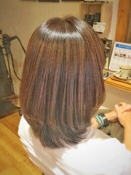 トモリヘアルーム (tomori Hair room)の写真/理想の髪質に大変身☆新ヘアケアメニュー『サブリミックサロンソリューション』であなたのなりたい叶えます