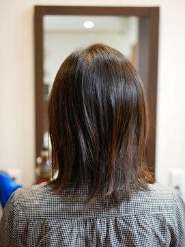 ヘアー クリエイション(Hair Creation)切りっぱなしロブ