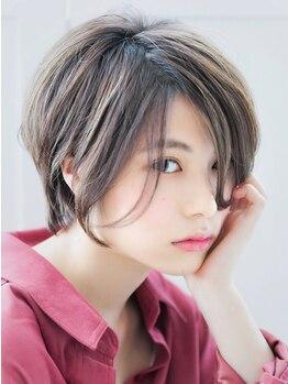 アンブレラビズ(UMBRELLA Bis. アンブレラ ビズ)の写真/《mm単位の似合わせ術》印象を変えるなら顔周りと前髪のカットが重要!メリハリをつけたカットで小顔効果◎
