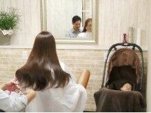 クレールフォーヘア(creer for hair)の雰囲気(半個室はちょうどベビーカーが入るように設計したこだわり空間★)