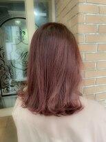 サロンドミルク 原宿(salon de MiLK)ハッピーピンクストロベリー 髪質改善 艶髪