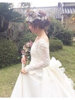 花嫁ヘアッセット