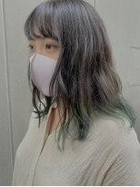アール 北千住店(ar)裾カラー【ミント】