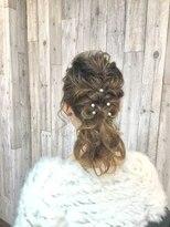 結婚式やパーティー イベントでのヘアーセット