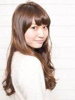 オーブ ヘアー ハラジュク 原宿店(AUBE HAIR harajuku)透明感あふれる潤いカールがポイント♪愛されロング