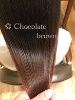 オハナ(ohana)大人可愛いチョコレートブラウン ■ohana 表参道 髪質改善■