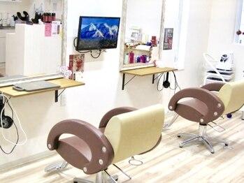 ラヴィヘアスペース(La Vie hair space)の写真/【完全予約×マンツーマン施術】1人1人に向き合う完全予約制プライベートサロン。幅広いお客様の支持あり★