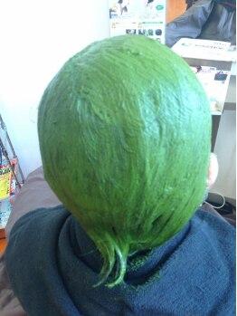 ウィズ(Hair Cut Wiz)の写真/特許取得済★白髪染めの方は≪お茶カラートリートメント≫京都宇治抹茶100%の白髪染めです♪