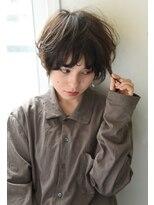 リーピース(Lepes)【Lepes】ふんわりおしゃれニュアンスパーマ☆ショート