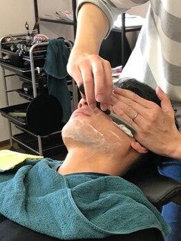 """ボンズ ヘアー(Bonds hair)の写真/【下祇園】シェービングができるサロン!賢く""""カッコイイ""""が手に入る。自分史上最高のイケメンStyleに◇"""