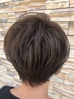 シャンブル ドゥ デフィ(chambre de Defi)の写真/あなたにピッタリの似合わせカットに心が弾む♪ライフスタイルに沿った髪形でお手入れラクラク!