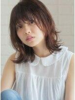 キース ヘアアンドメイク(kith. hair&make)恵比寿kith.本田×小顔ウルフセミディ