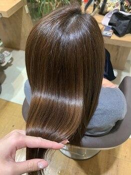 ルシードスタイルレシス(LUCIDO STYLE Les CYS)の写真/SNSで話題沸騰!!うるツヤ美髪が叶う髪質改善サブリミックトリートメント。プロの施術で美しい髪質を叶える