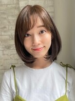 ジョエミバイアンアミ(joemi by Un ami)【joemi 】大人丸みひし形ボブ(小倉太郎)