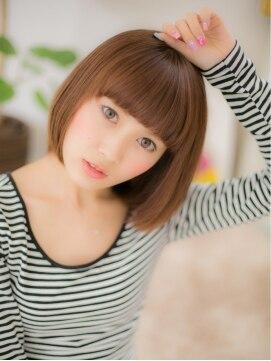 モッズヘア 上尾西口店(mod's hair)まっすぐバングで可愛い☆サラサラ小顔ボブa