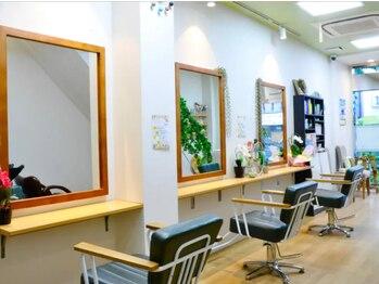 カミビト 世田谷店(KamiBito)の写真/【駒沢大学/桜新町】通い易い価格×マンツーマン施術で『なりたい』Styleが叶う♪希望の仕上がりに満足度◎