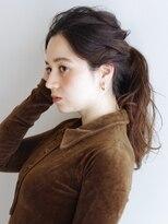 ラウンジ ヘアー 吉祥寺(ROUNGE hair)【sakai】ロング 3分アレンジ