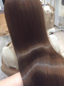 ソレイユミュー(Soleil Mju)の写真/髪質やダメージの状態を見極め、豊富な知識とこだわりの薬剤で、くせ毛・ウネリのお悩み解決☆
