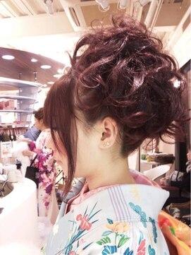 フリーク ドゥ 久米田駅前店(freak deux)成人式にオススメ☆アップヘア
