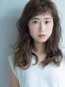 ヘアーブランドジン ティアラ(HAIR BRAND Jin Tiara)の写真/《キューティクル復元で髪質改善》繰り返しのカラーで傷んだ髪も毛先まで潤う♪透明感のある理想の色味に★