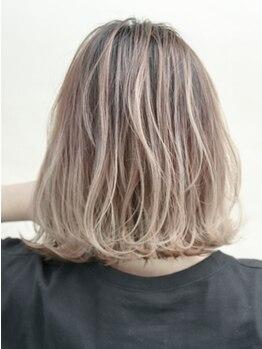"""リゴ ヘアー(RIGO hair)の写真/【明石駅から徒歩1分】ナチュラルカラーから外国人風カラーまであなたの""""なりたい色""""をご提供します!"""