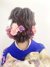 ハール 資生堂美容室(Haar by SHISEIDO)卒業式・成人式・パーティー ヘアアレンジ