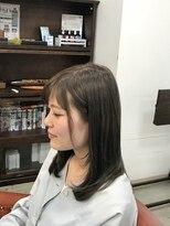 ヘアー コパイン(HAIR COPAIN)[熊本/中央区/上通り/並木坂] アッシュ系カラー
