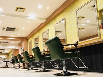 アマニエン(amani en)の写真/【20時まで営業】なかなか美容室に行けないママさんへ☆こだわり空間と接客で髪も心もリフレッシュ♪
