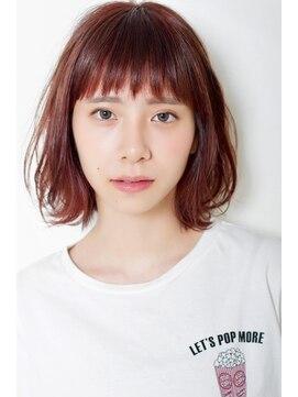 バジル(BASIL)BASIL☆「チェリーピンク」×「ボブ」