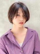 《Agu hair》女っぽしっとり質感ショート