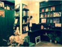 ヘアルーム カーディガン(hair room cardigan.)の雰囲気(音楽とインテリアにこだわった店内で寛ぎのサロンtimeを..☆)