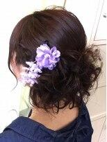 タクミ 美容院 庭瀬店(Takumi)浴衣に似合うアレンジスタイル
