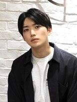 銀座マツナガ 箱崎店(GINZA MATSUNAGA)20代ビジネスナチュラルセンターパートマッシュ