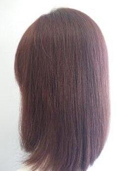 ポノヘアー美容室(pono hair)の写真/頭皮と髪に優しい上質なカラー♪傷みが気になる方もオススメ★カットと一緒のセットメニューでさらにお得!
