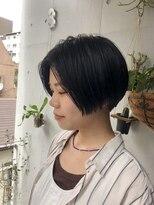 パム 恵比寿(PAM.)【pam.ゴトウ】 blue black short