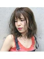 フェス カットアンドカラーズ(FESS cut&colors)『FESS 鶴丸』【オリーブグレージュ×イルミナカラー】