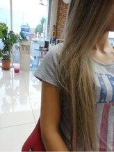 髪こうぼう外国人風☆グレージュカラー