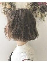 リーピース(Lepes)簡単スタイリング伸ばしかけヘア【Lepes】ルーズパーマボブ