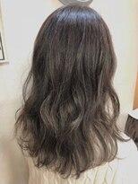 ヘアーアンドメイク ポッシュ 新宿店(HAIR&MAKE POSH)透け感グレージュカラー