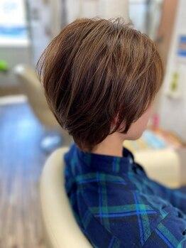 ヘアモード ビバップ(hair mode BEBOP)の写真/【飾磨駅/駐車場あり】クセを活かしたヘアなど,高い再現性が人気☆マンツーマン施術で落ち着いたひと時を…