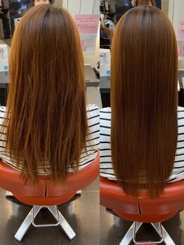 リド 諸江店(LIDO)の写真/髪質革命!SNSで話題の【酸熱トリートメント】1人1人に合わせたパーソナライズケアで何度も触りたくなる髪へ